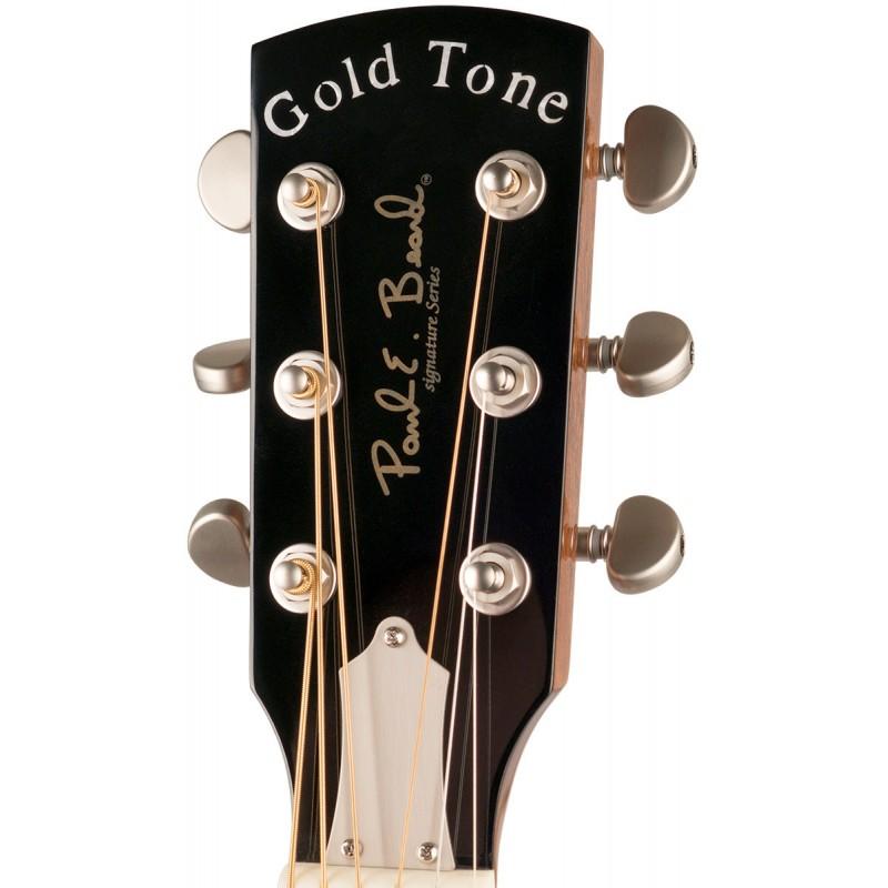 gold tone grs paul beard metal body resonator guitar 250 tree of life guitars. Black Bedroom Furniture Sets. Home Design Ideas