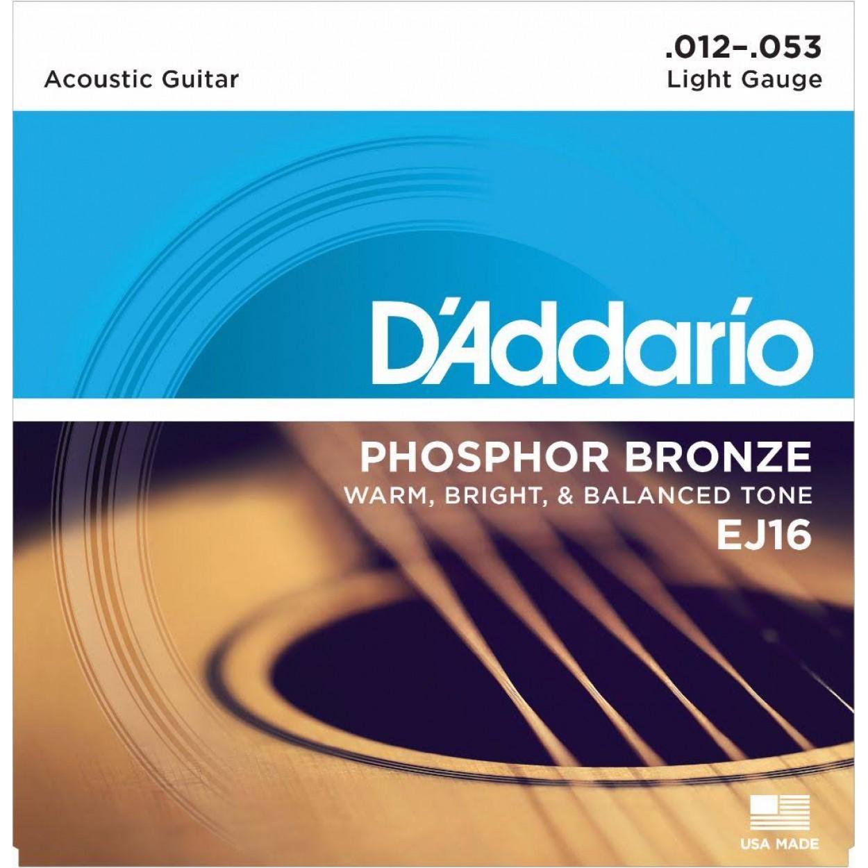 D'Addario EJ16 12-53