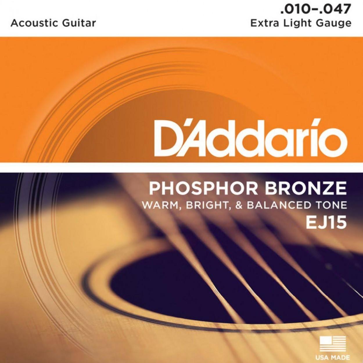 D'Addario EJ15 10-47
