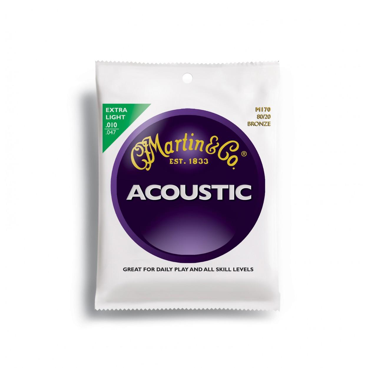 Martin Acoustic Guitar Strings Extra Light 10-47