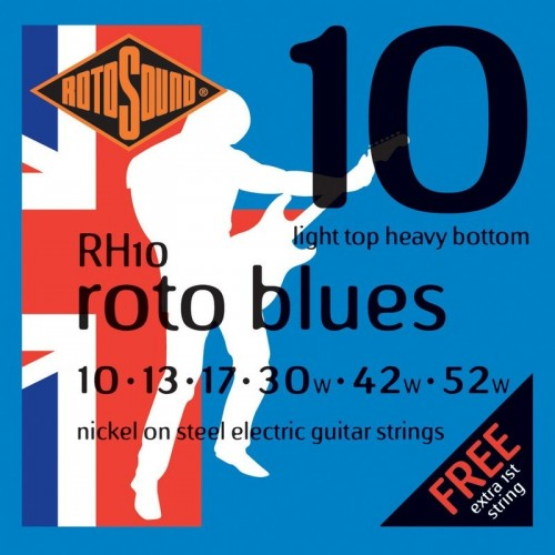 Rotosound Guitar Strings Blues 10-52
