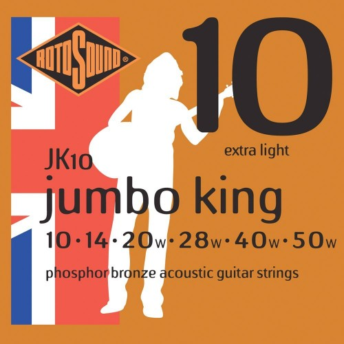 Rotosound Jumbo King Phosphor Bronze 10's
