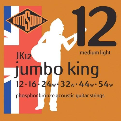Rotosound Jumbo King Phosphor Bronze 12's