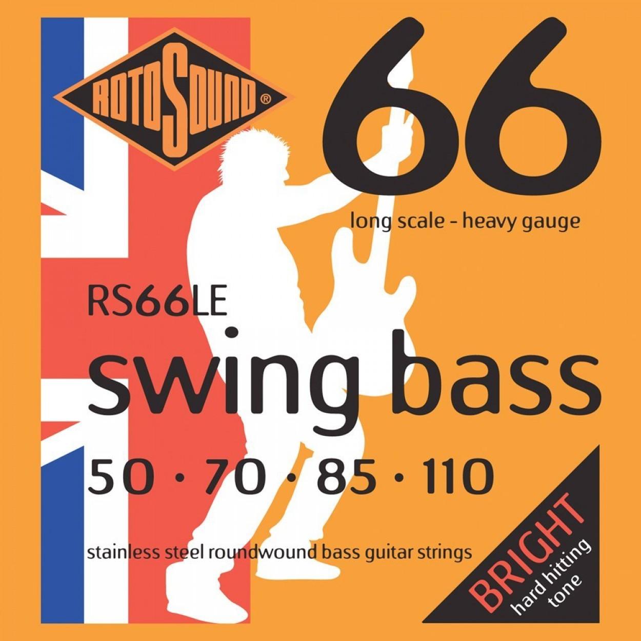 RotoSound 66 Swing Bass Strings 50-110