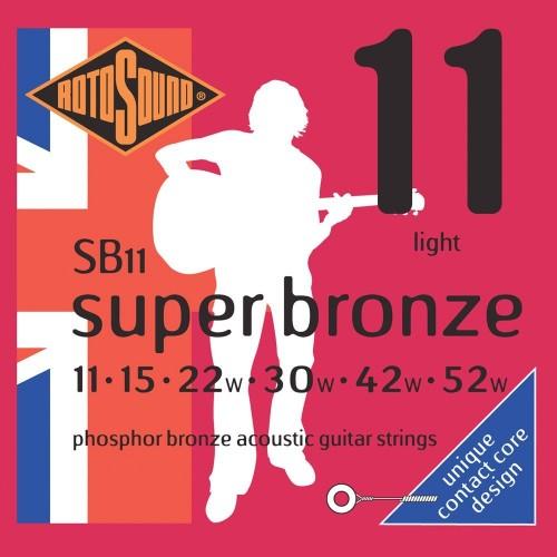 Rotosound Super Bronze 11's