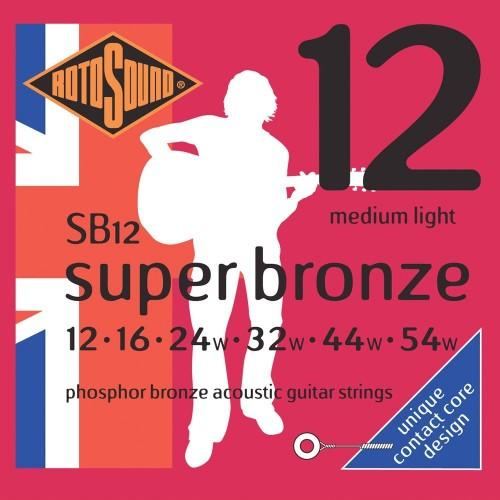 Rotosound Super Bronze 12's