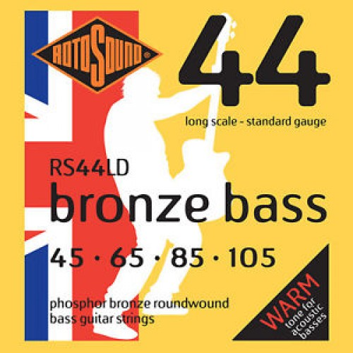 Rotosound Phosphor Bronze Bass Strings 45-105